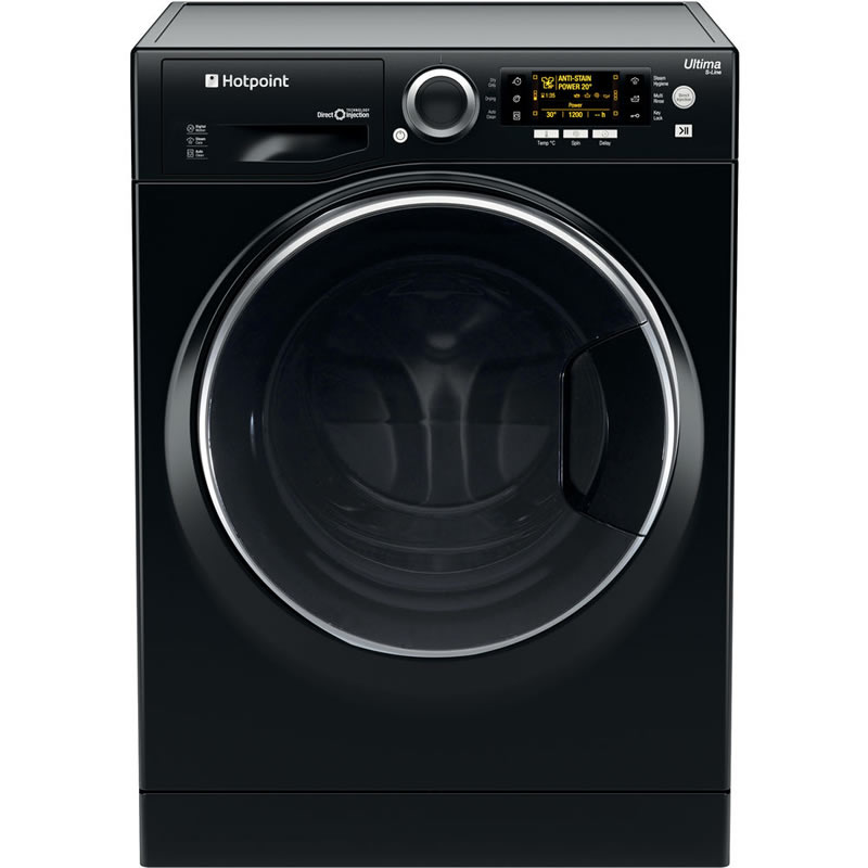 1600rpm Washer Dryer 9kg/6kg Load Class A Black