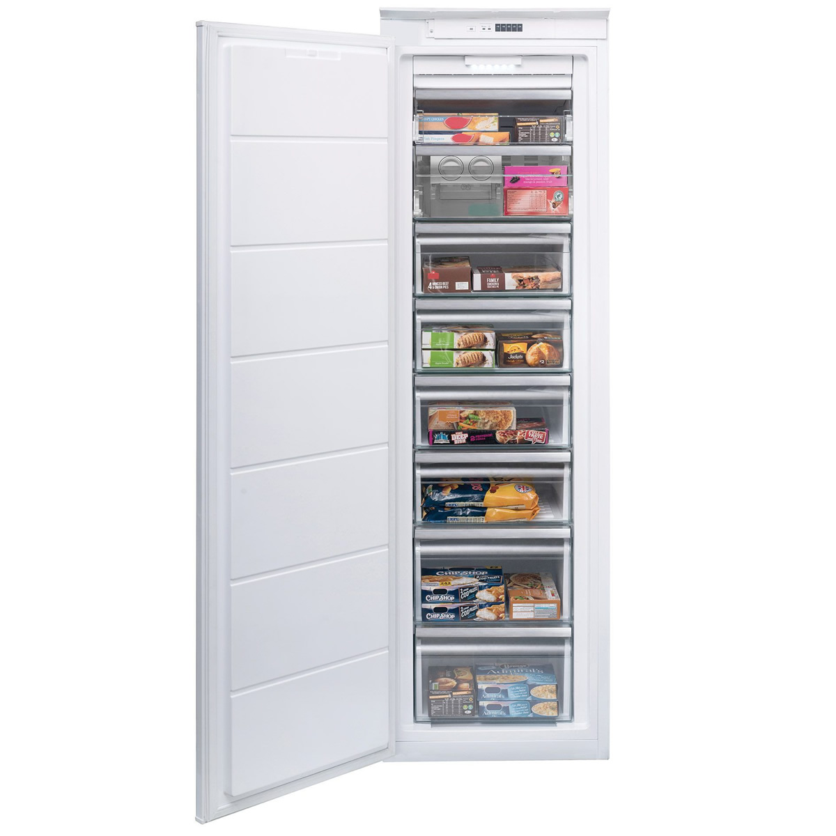 221litres Integrated Freezer Class A+ Frost Free White