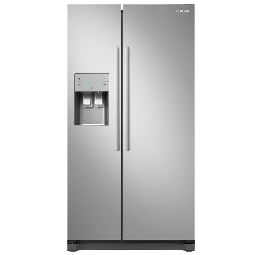 Samsung RS3000 RS50N3513SA American Fridge Freezer - Metal Graphite - A+ Rated
