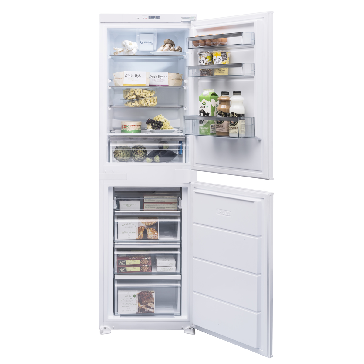 R5505 234litre Integrated Fridge Freezer Frost Free Class A++