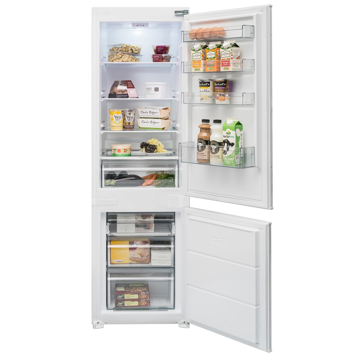 256litre Integrated Fridge Freezer Class A+