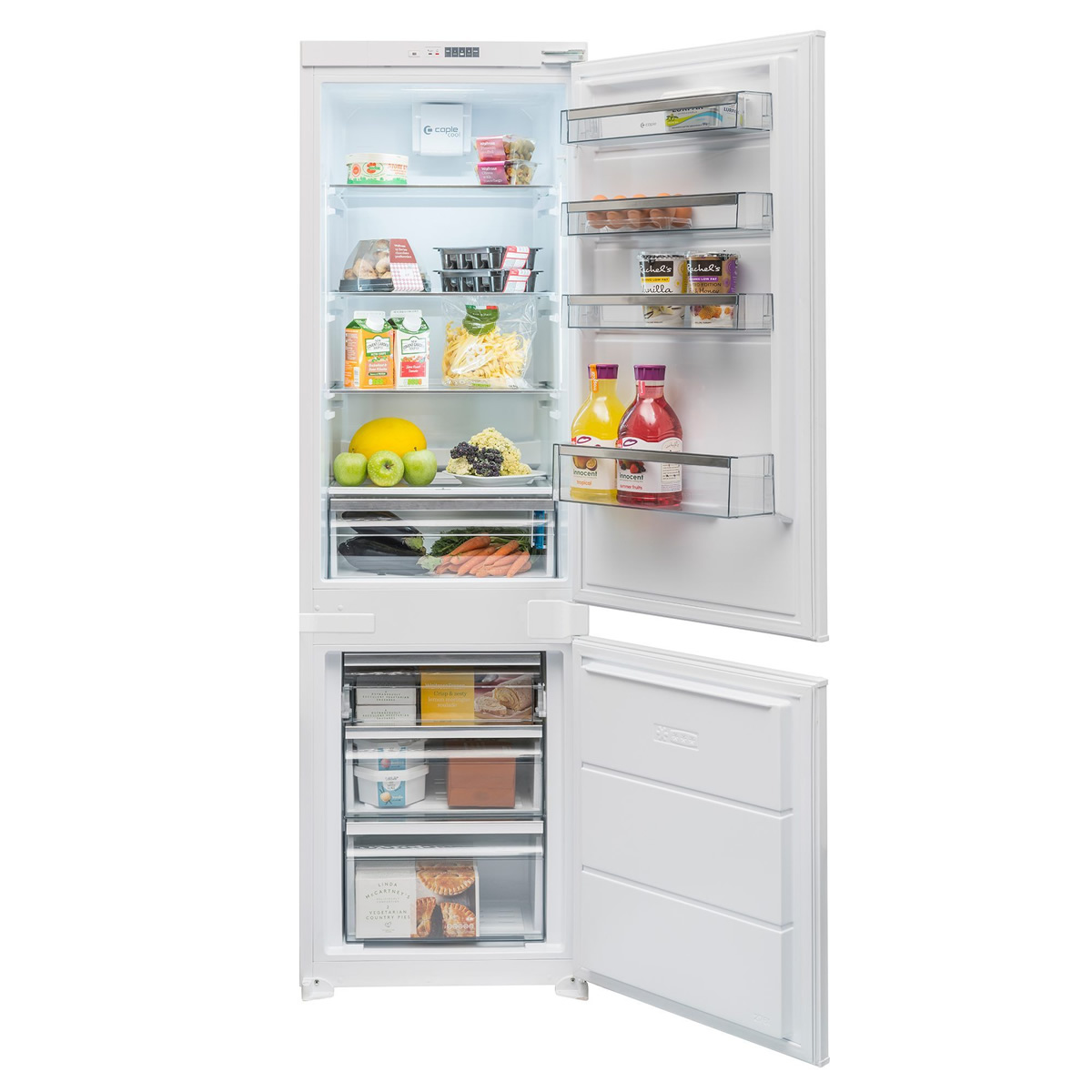 256litre Integrated Fridge Freezer Frost Free Class A++
