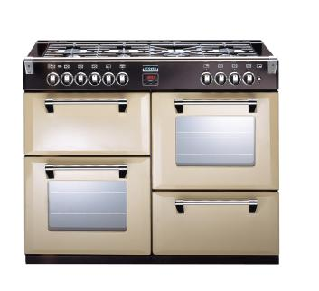 Image of 1000mm Dual Fuel Range Cooker WOK Burner Champagne
