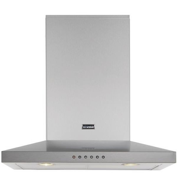 900mm Cooker Hood 3-Speed Twin Lights SSteel