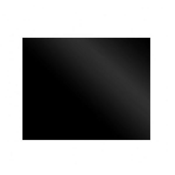 Image of 600mm Splashback Black Glass