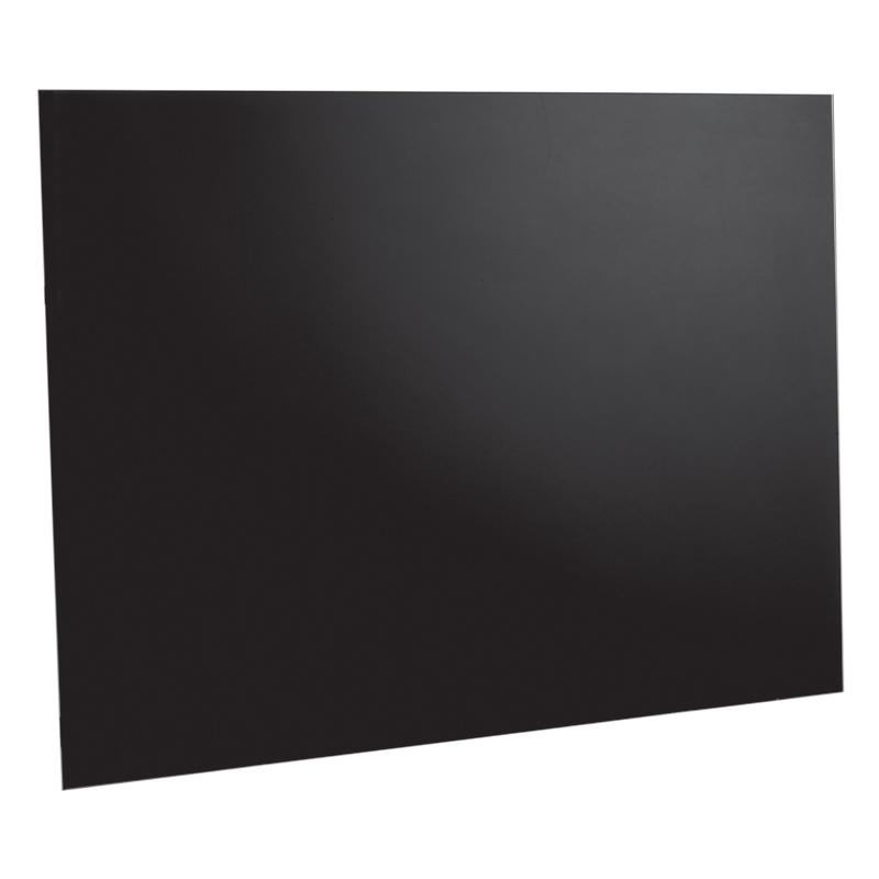 Image of 900mm Splashback Easy Clean Surface Black Glass