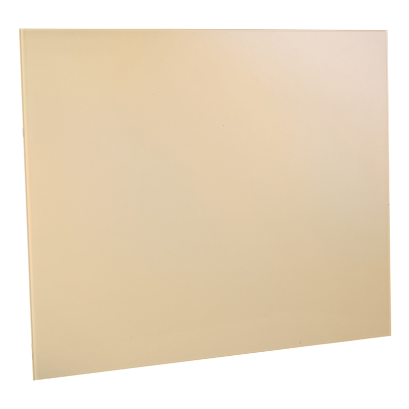 Image of 900mm Splashback Easy Clean Surface Cream Glass