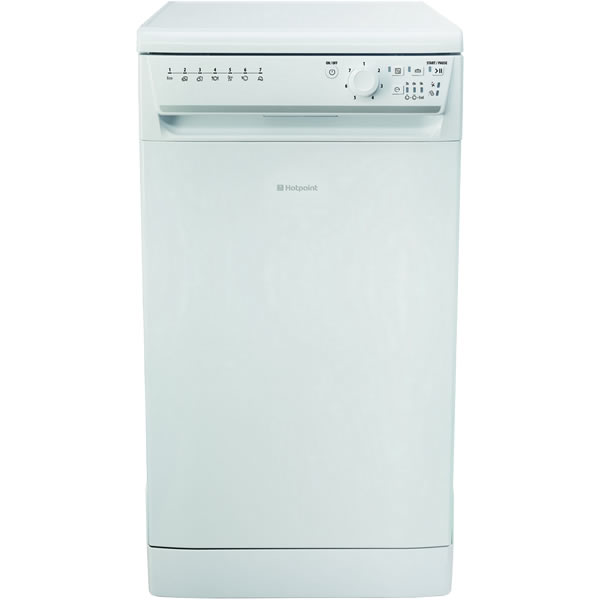 10-Place Slimline Dishwasher 7 Progs Class A+ White