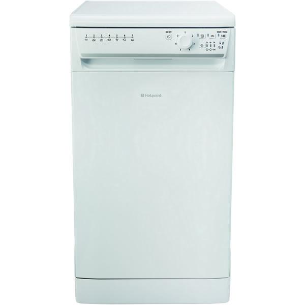10-Place Slimline Dishwasher 7 Progs White