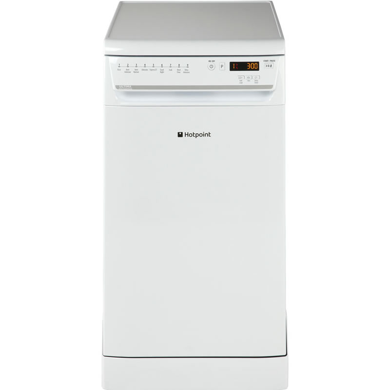 10-Place Slimline Dishwasher 9 Progs Class A++ White