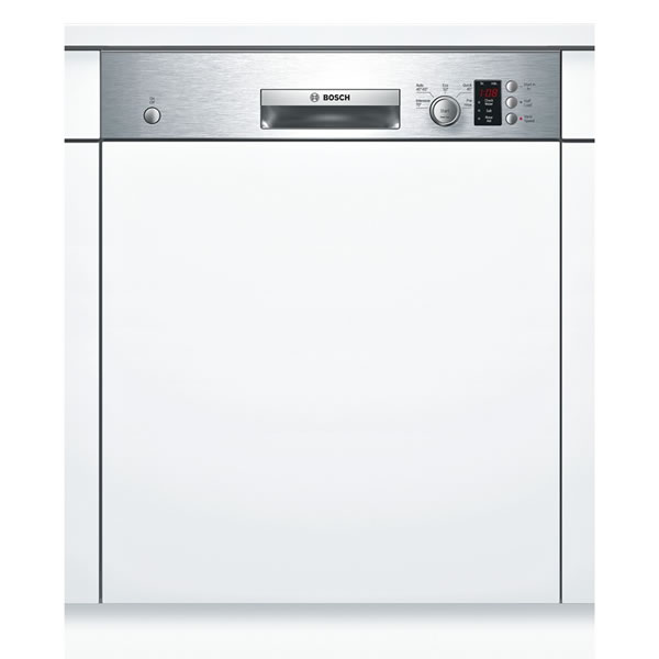 Image of 12-Place Built-in Dishwasher 5 Progs Class A+ Silver