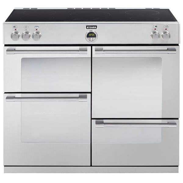 Compare retail prices of 1000mm Electric Range Cooker Induction Hob S/Steel to get the best deal online