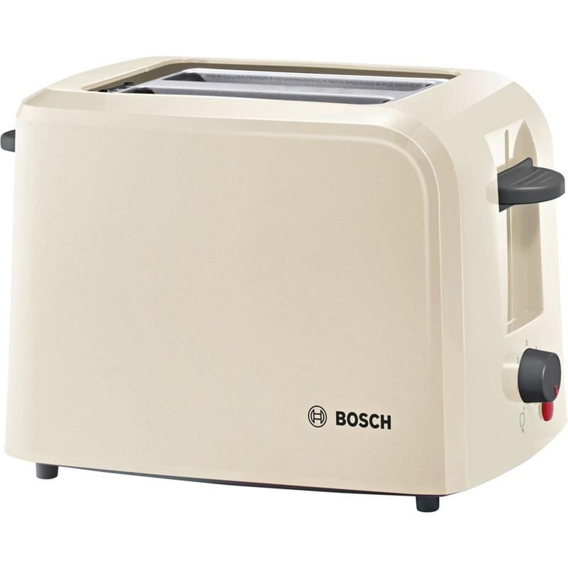 2-Slice Toaster Electronic Sensor Defrost Cream