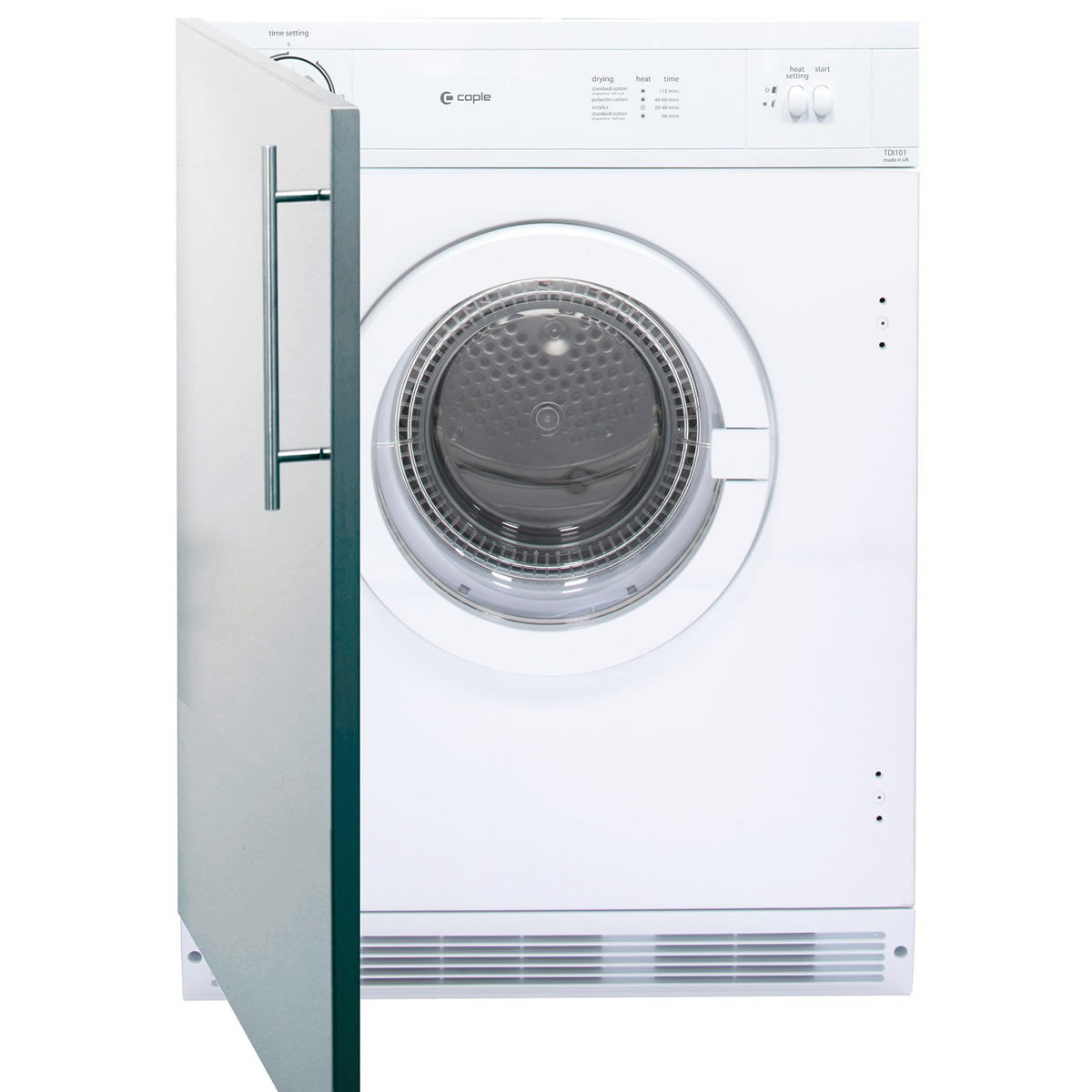 Image of 6kg Integrated Tumble Dryer Vented Class C
