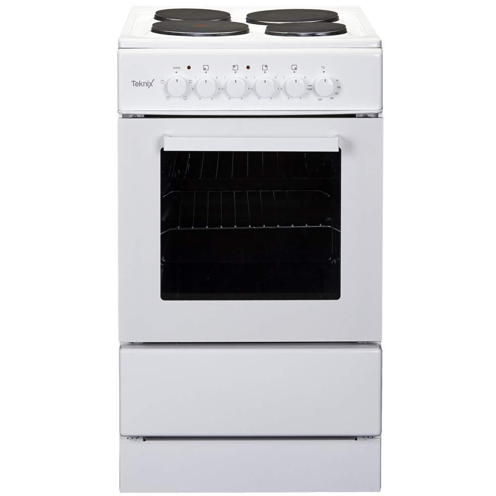 TK50SEW 500mm Electric Oven Single Cavity 4 x Solid Hot Plates
