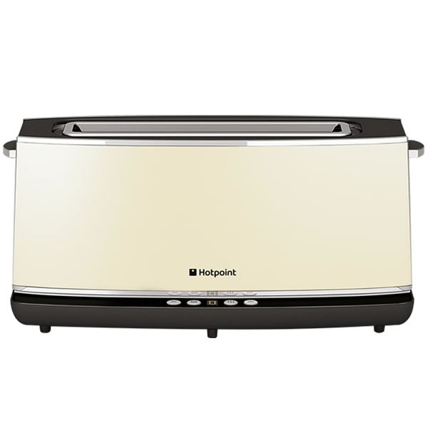 Image of 2 Slice Extralong Toaster Reheat 8 Browning Levels