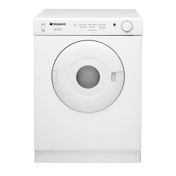 Image of 4kg Load Compact Tumble Dryer White