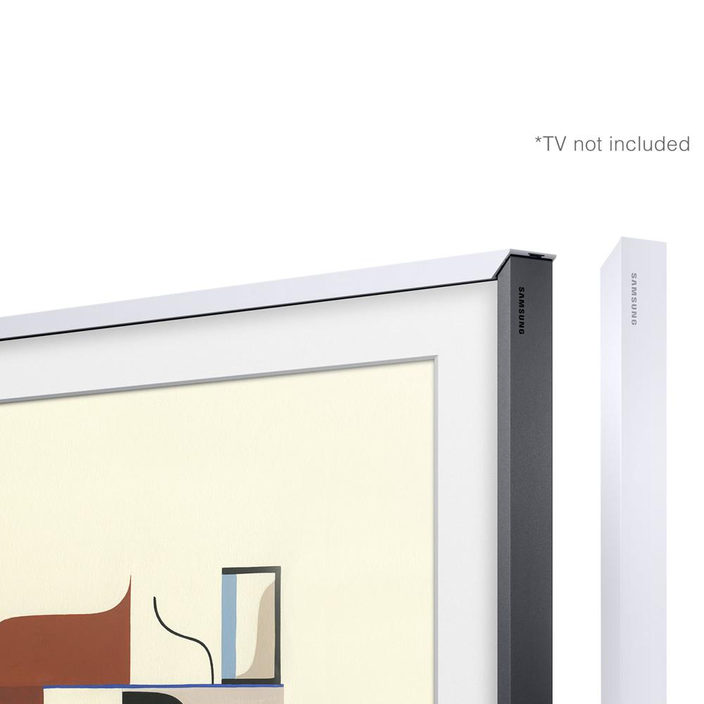 Image of Customisable White Bezel for The Frame 43inch TV
