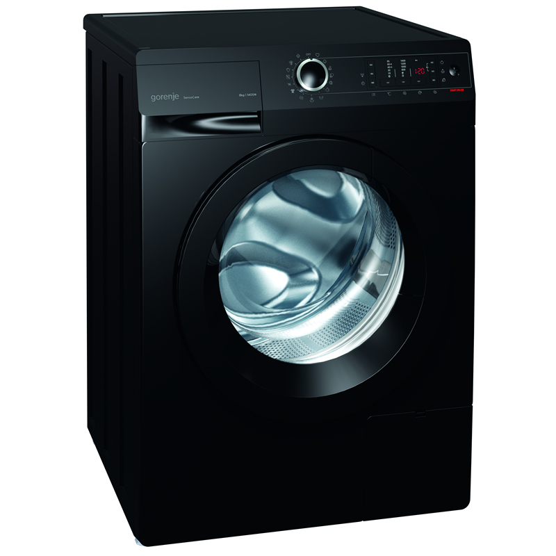 1400rpm Washing Machine 8kg Load Class A+++ Black