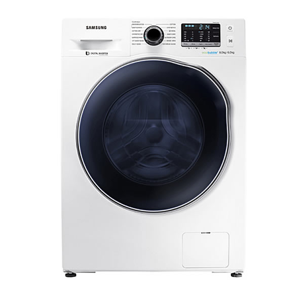 1400rpm Washer Dryer 8kg/6kg Load Class A White