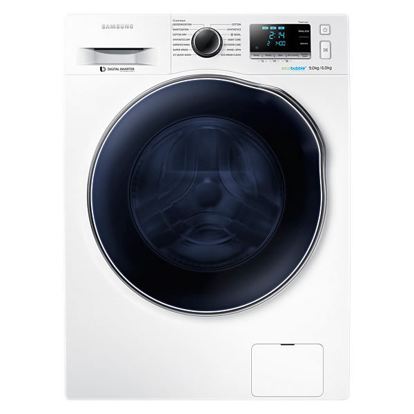1400rpm Washer Dryer 9kg6kg Load Class A White