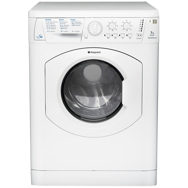 1200rpm AQUARIUS Washer Dryer 7kg5kg Load Polar White