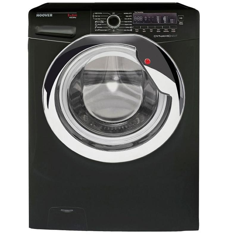 1400rpm Washer Dryer 8kg/5kg Load Class A Black