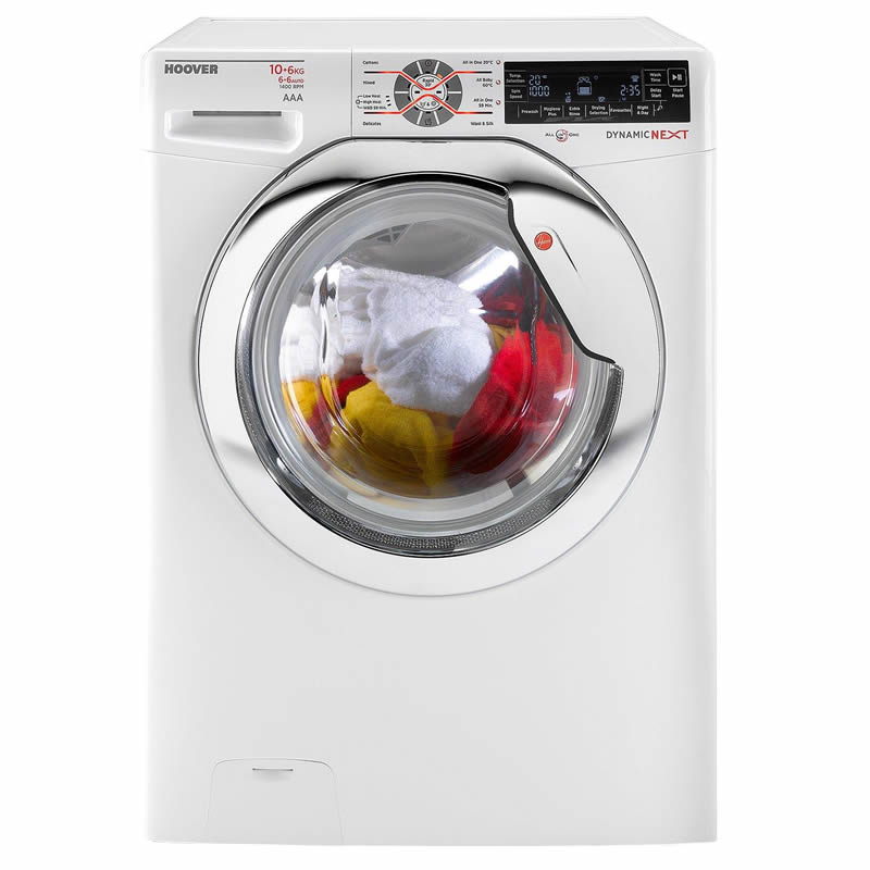 1400rpm Washer Dryer 10kg/6kg Load Class A White