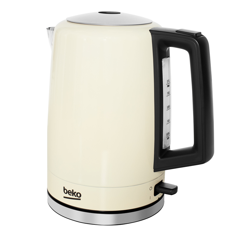 3Kw Kettle 1.6litre 360° Rotating Base Cream