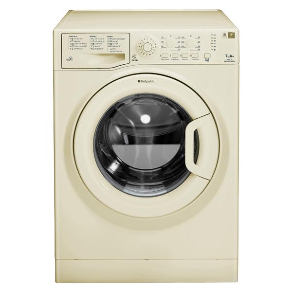 1200rpm Washing Machine 7kg Load Class A+ Classic Cream