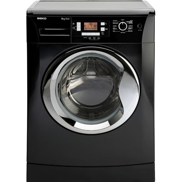 1200rpm Washing Machine 9kg Load Class A++ Black