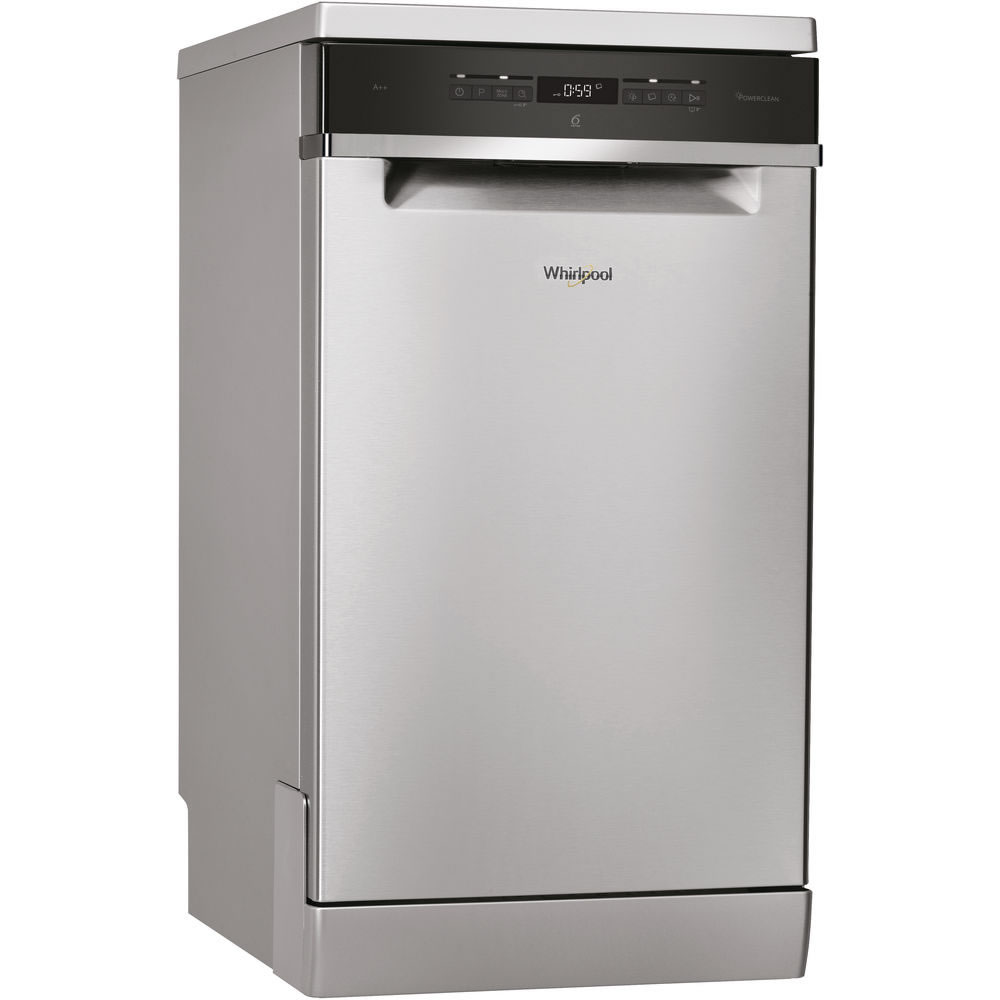 Image of 10-Place Slimline Dishwasher 8 Progs Class A++ S/Steel