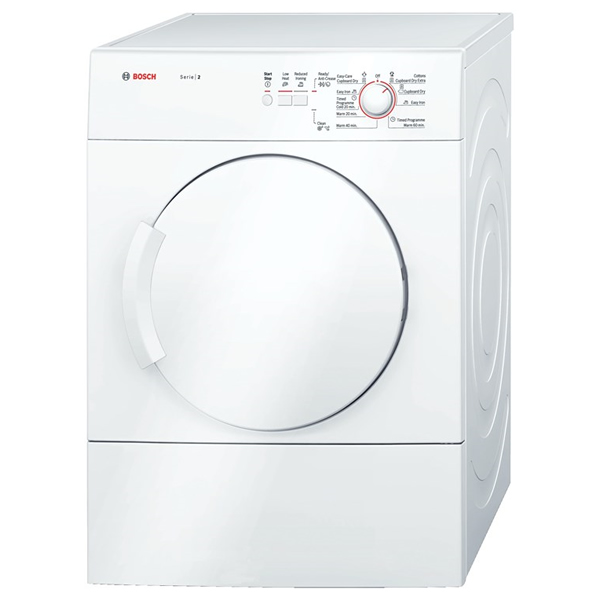 6Kg Load Vented Tumble Dryer Class C White