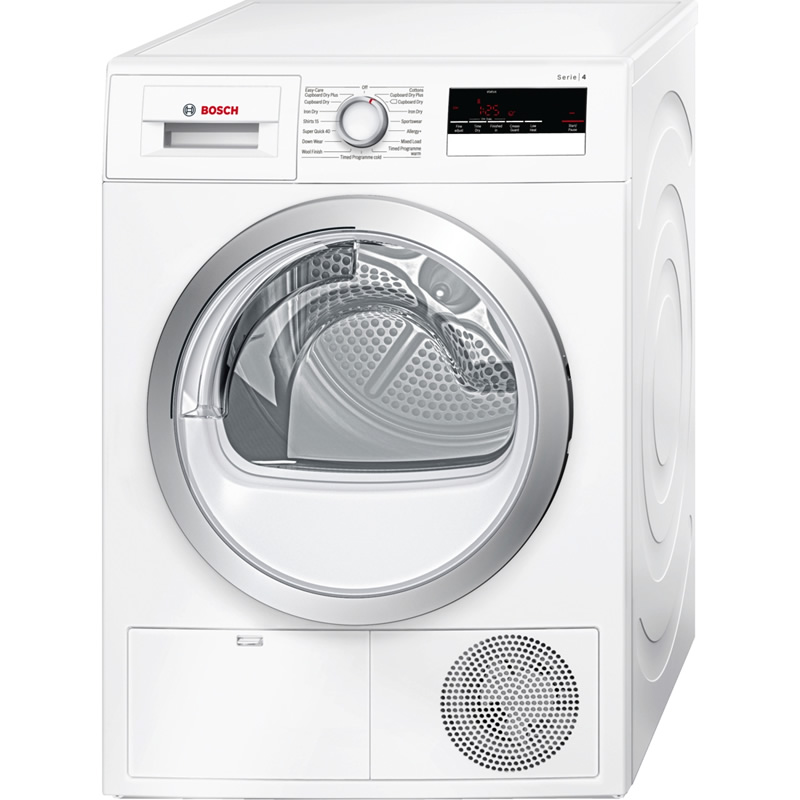 7kg Load Condenser Dryer Class B Time Delay White