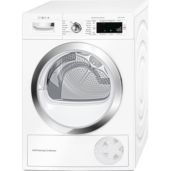 9kg Load Condenser Tumble Dryer Class A++ Home Connect