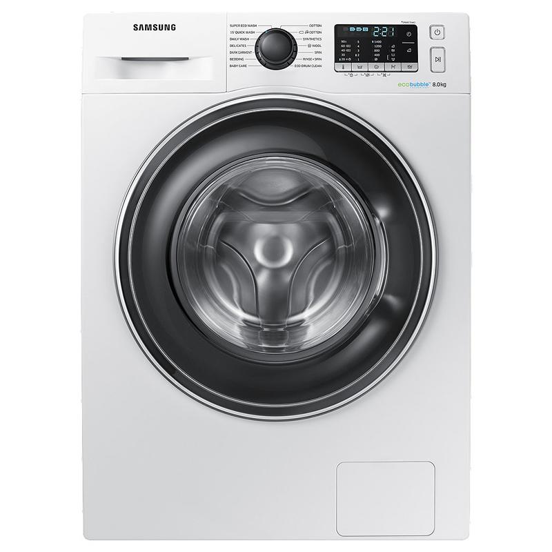1400rpm Washing Machine 8kg Load SMART Class A+++