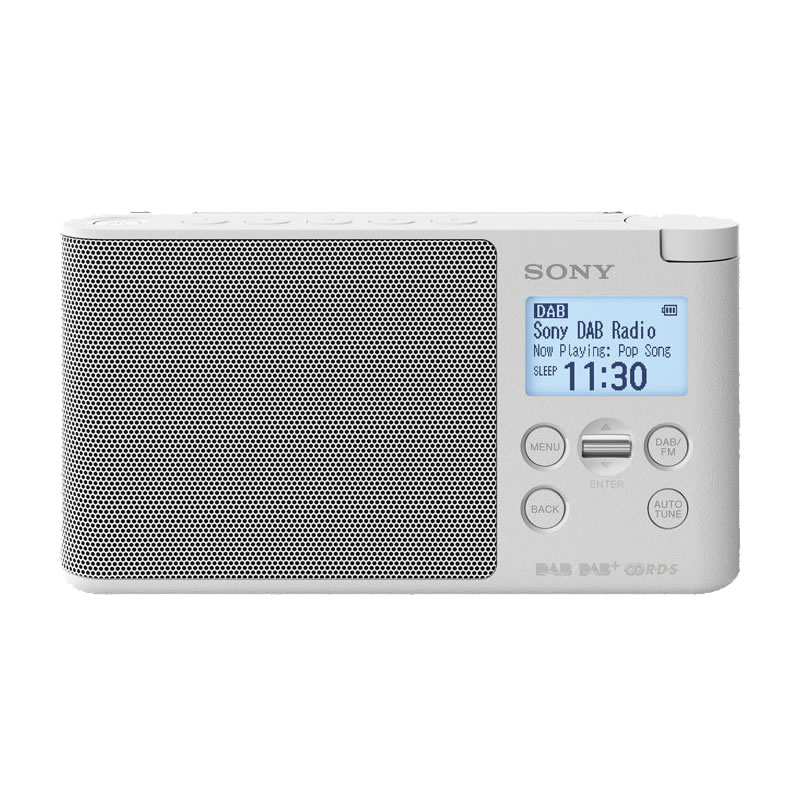 Click to view product details and reviews for Dab Dab Fm Digital Radio Lcd Display White.
