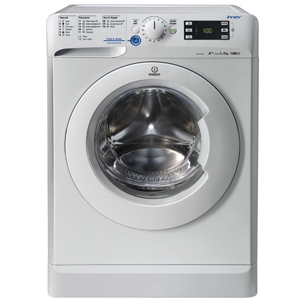 Compare retail prices of 1400rpm Washing Machine 9kg Load Class A White to get the best deal online