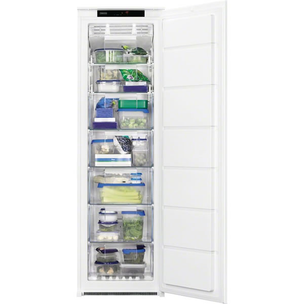 220litre Integrated Upright Freezer Class A+ White