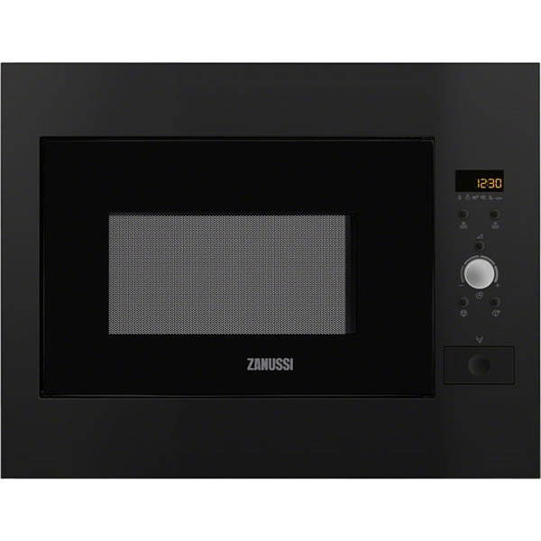 900Watts Built-in Microwave & Grill Black