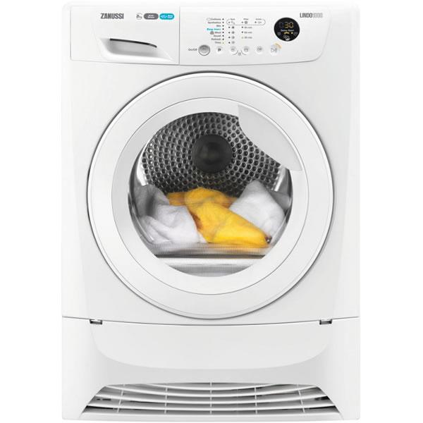 8kg Load Heat Pump Tumble Dryer Class A+ Sensor White