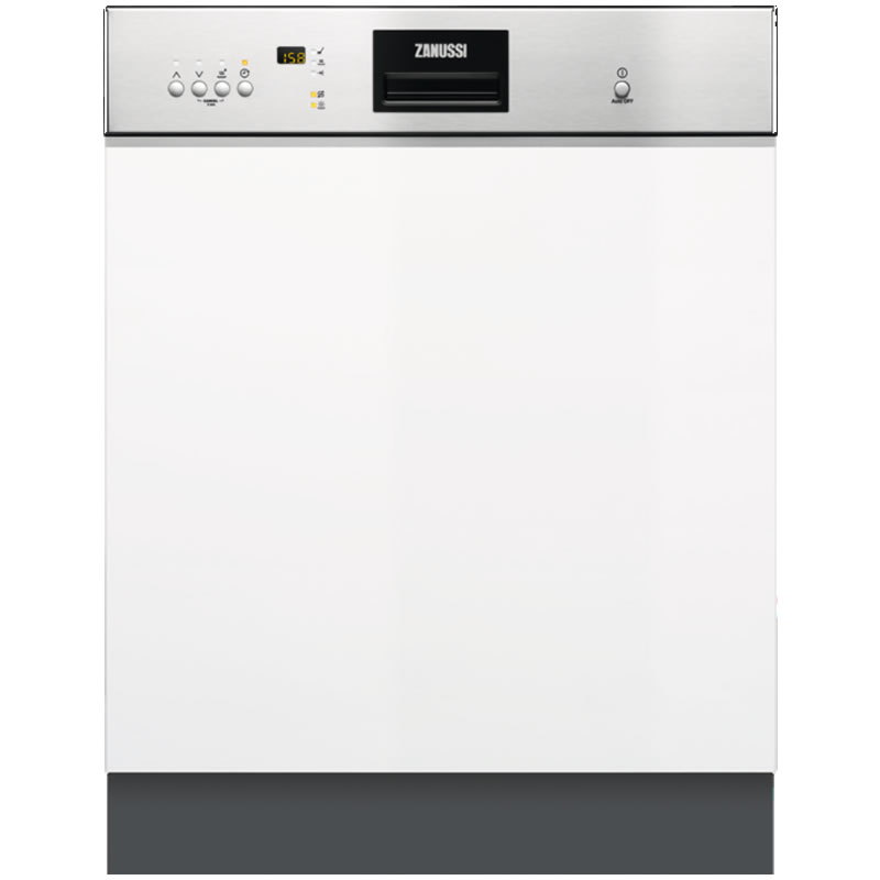 Image of 13-Place Semi Integrated Dishwasher 6 Progs Class A+