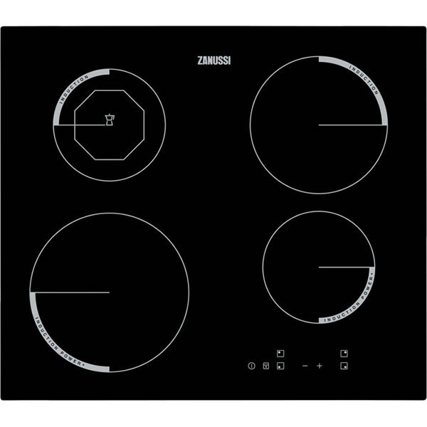 600mm Induction Hob Touch Control Black