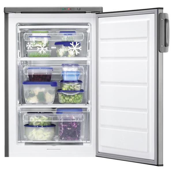 110litre Upright Freezer Class A+ S/Steel