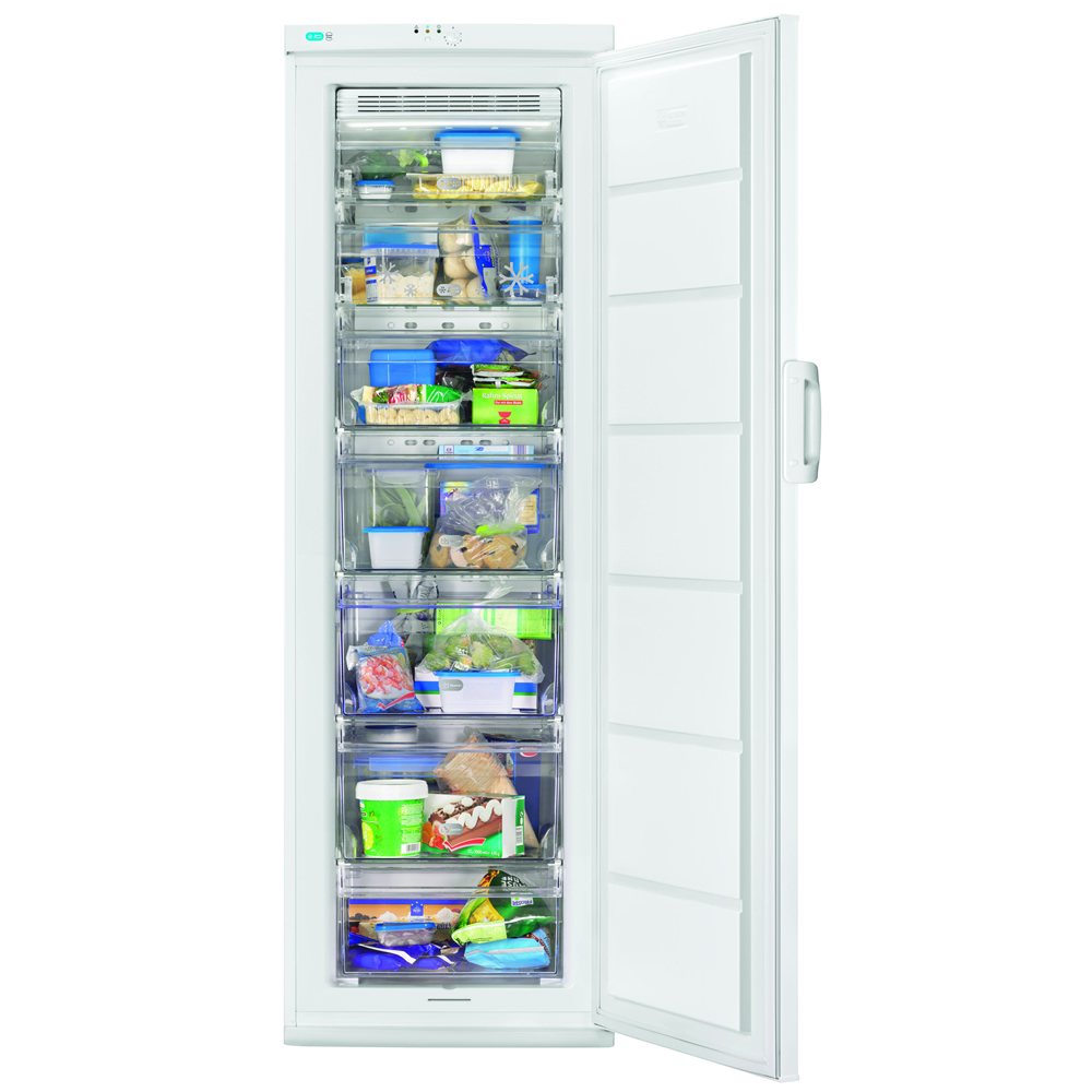 250litre Upright Freezer Class A+ Frost Free White