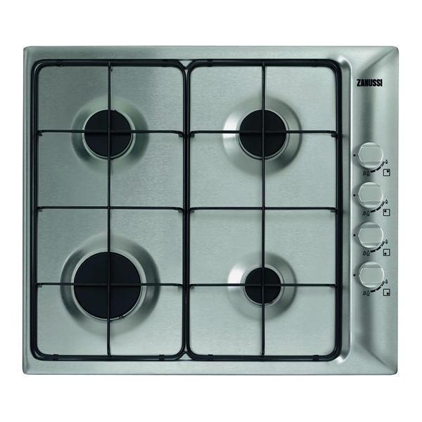 600mm Gas Hob 4 x Burners FSD Stainless Steel