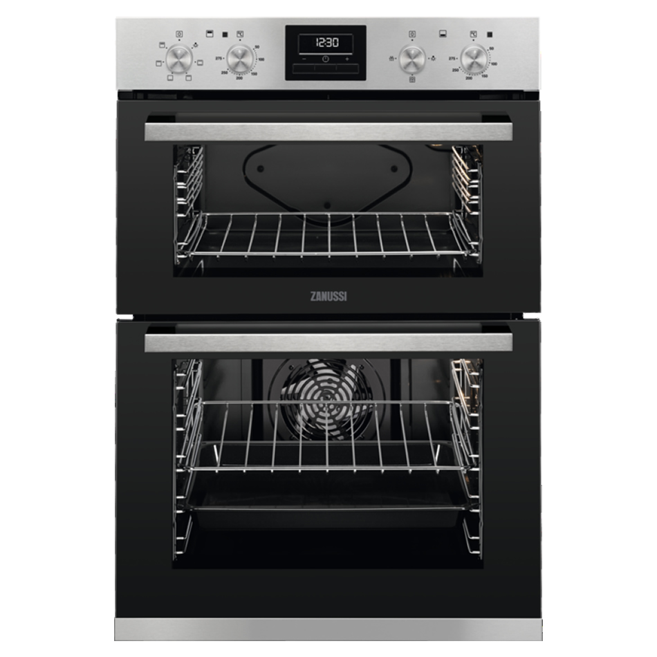 Built-in Electric Double Oven Multi-Function Black