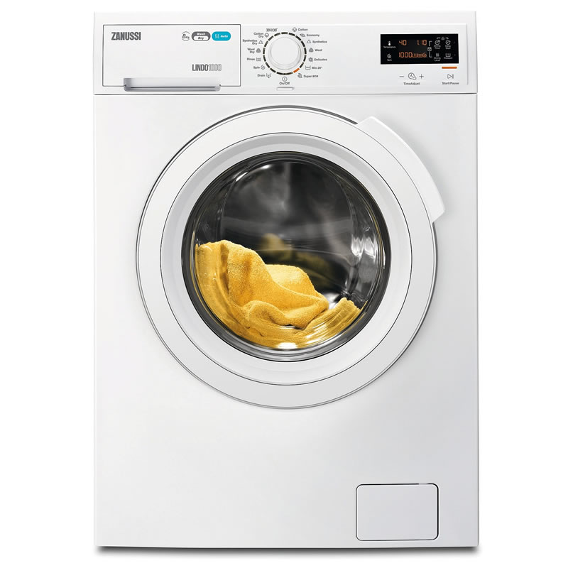 1600rpm Washer Dryer 8kg6kg Load Class A White