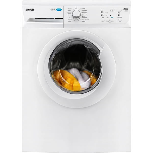 1200rpm Washing Machine 6kg Load Class A+ White