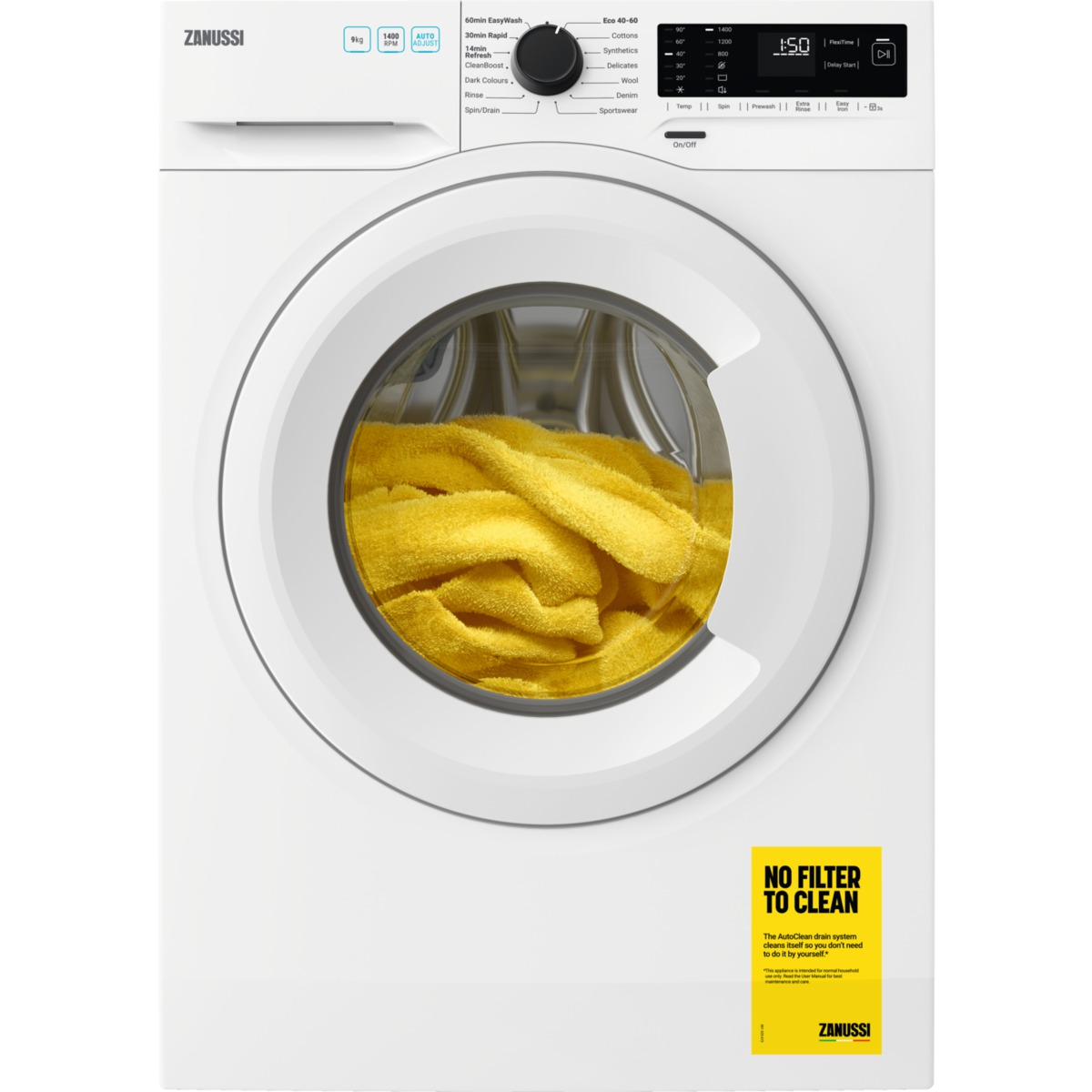 Image of Zanussi ZWF944A2PW